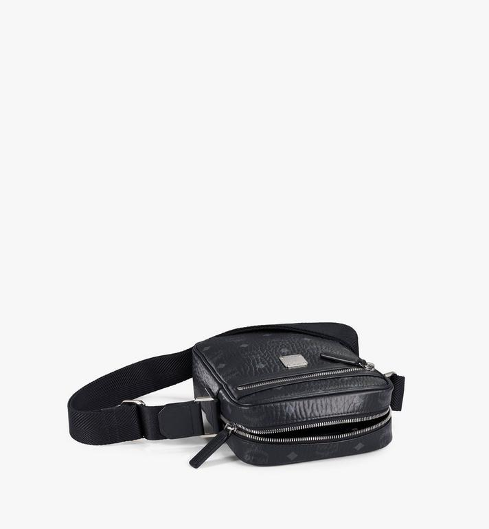 MCM N/S Klassik Crossbody in Visetos Black MMRAAKC04BK001 Alternate View 3