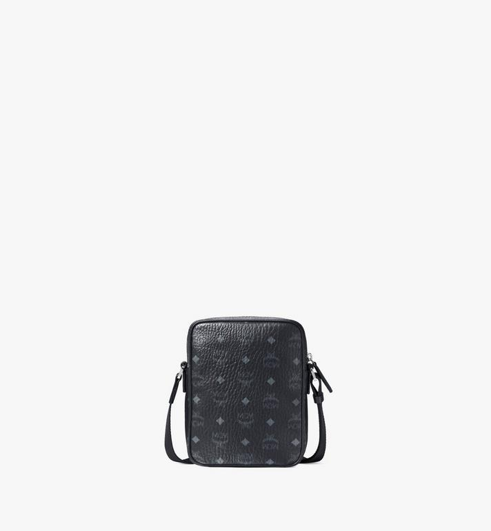 MCM N/S Klassik Crossbody in Visetos Black MMRAAKC04BK001 Alternate View 4