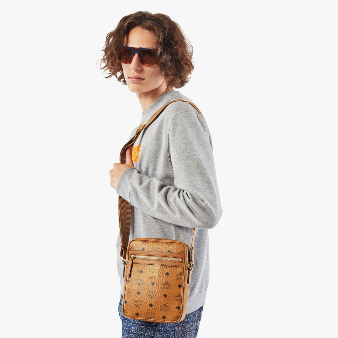 N/S Klassik Crossbody in Visetos