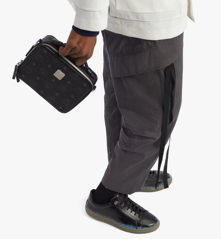 MCM กระเป๋าครอสบอดี้ Klassik ลาย Visetos Black MMRAAKC05BK001 Alternate View 7