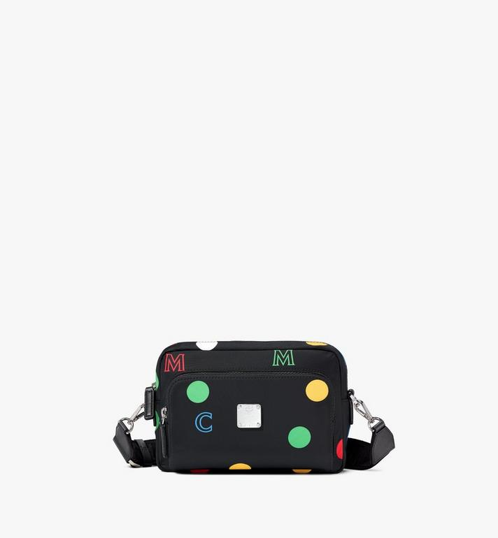 MCM Klassik Crossbody in Polka Dot Nylon Alternate View