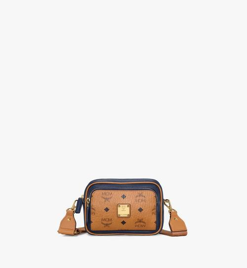 Klassik Crossbody in Visetos Leather Block