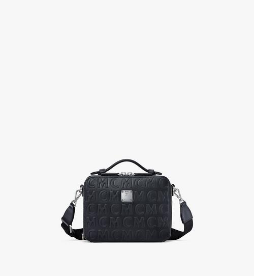 กระเป๋าครอสบอดี้ E/W Klassik วัสดุหนังลายโมโนแกรม MCM