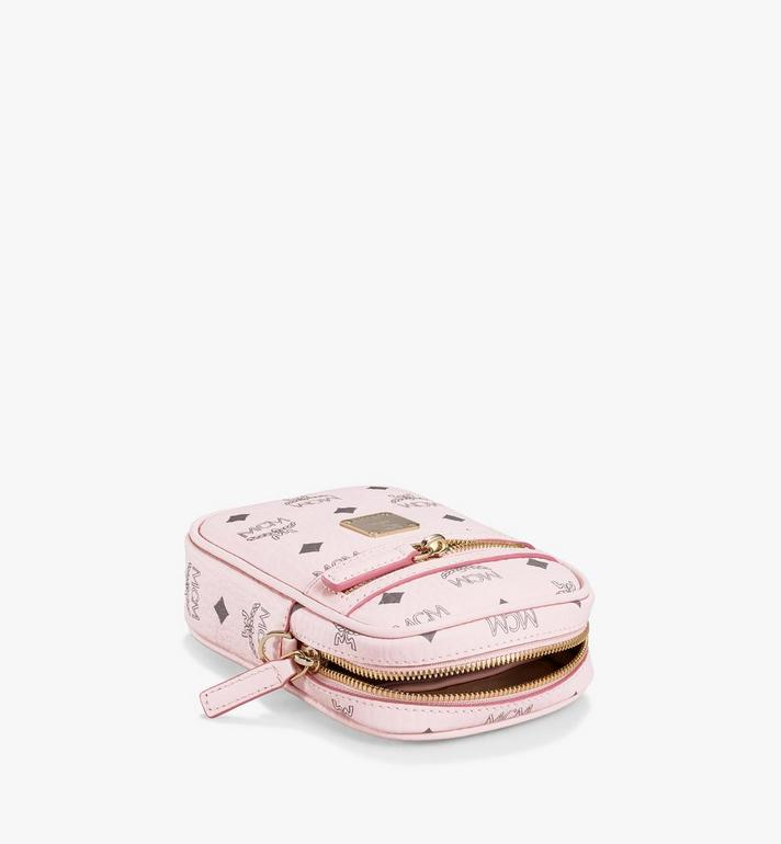 MCM Klassik Crossbody in Visetos Pink MMRAAKC17QH001 Alternate View 3