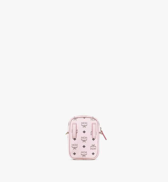 MCM Klassik Crossbody in Visetos Pink MMRAAKC17QH001 Alternate View 4