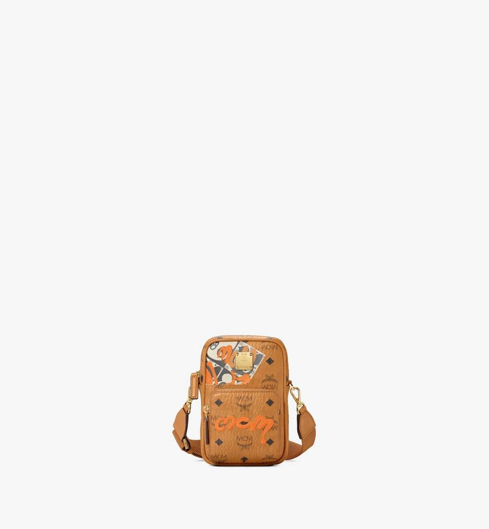 Tech Crossbody in Berlin Bear Visetos 1