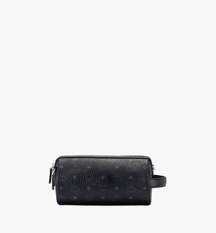 MCM Klassik Crossbody in Visetos Black MMRASKC04BK001 Alternate View 3