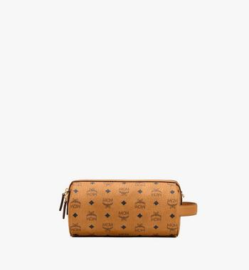MCM Klassik Crossbody in Visetos Cognac MMRASKC04CO001 Alternate View 3