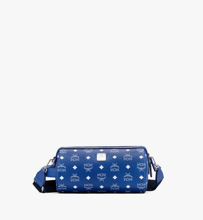 MCM Klassik Crossbody-Tasche in Visetos Blue MMRASKC05H1001 Alternate View 1