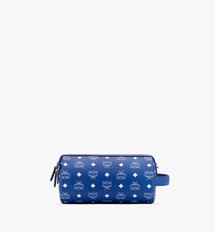 MCM Klassik Crossbody-Tasche in Visetos Blue MMRASKC05H1001 Alternate View 3
