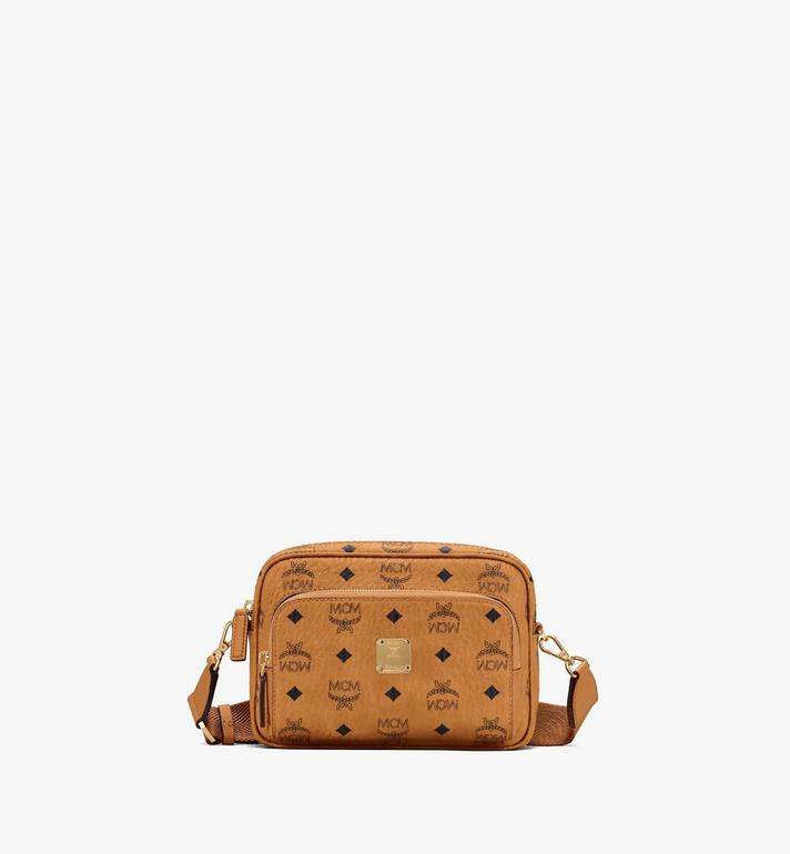 MCM Klassik Crossbody-Tasche in Visetos Alternate View
