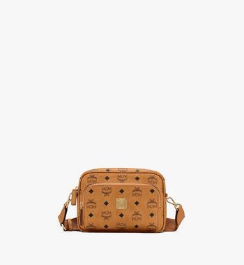 VERKAUFT MCM Tasche Handtasche Patricia Visetos Satchel Bag medium * wie NEU * NICHT getragen