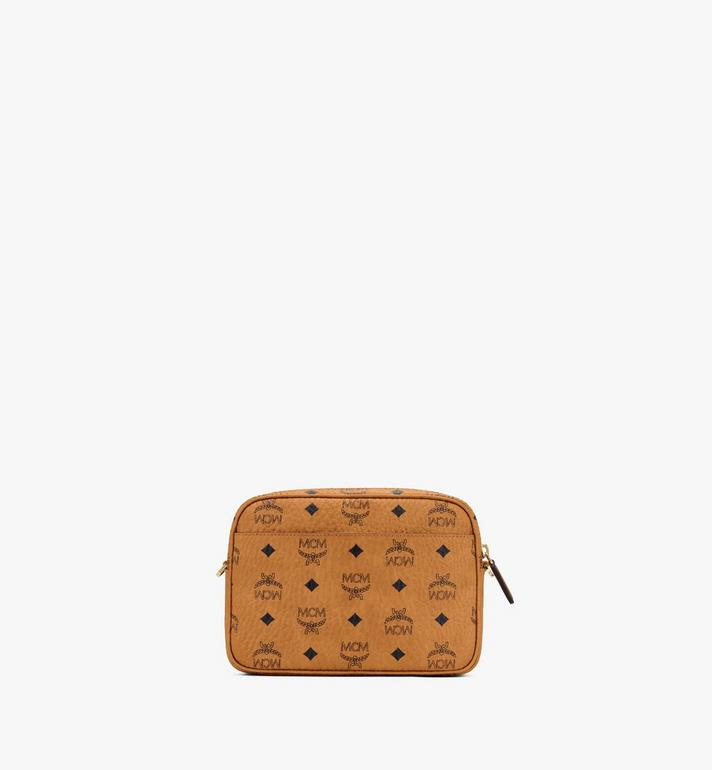 MCM Klassik Crossbody-Tasche in Visetos Cognac MMRASKC06CO001 Alternate View 3