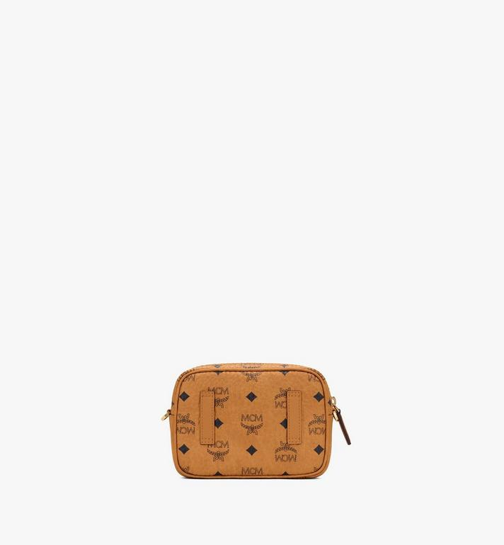 MCM Klassik Crossbody in Visetos Cognac MMRASKC08CO001 Alternate View 3