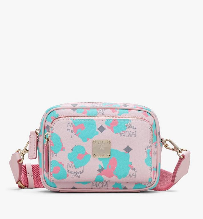 MCM Klassik Crossbody in Floral Leopard Alternate View