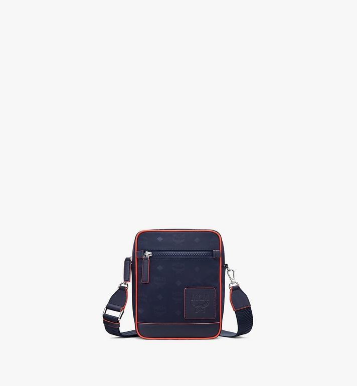 MCM Mini sac à bandoulière Klassik en nylon monogrammé Alternate View