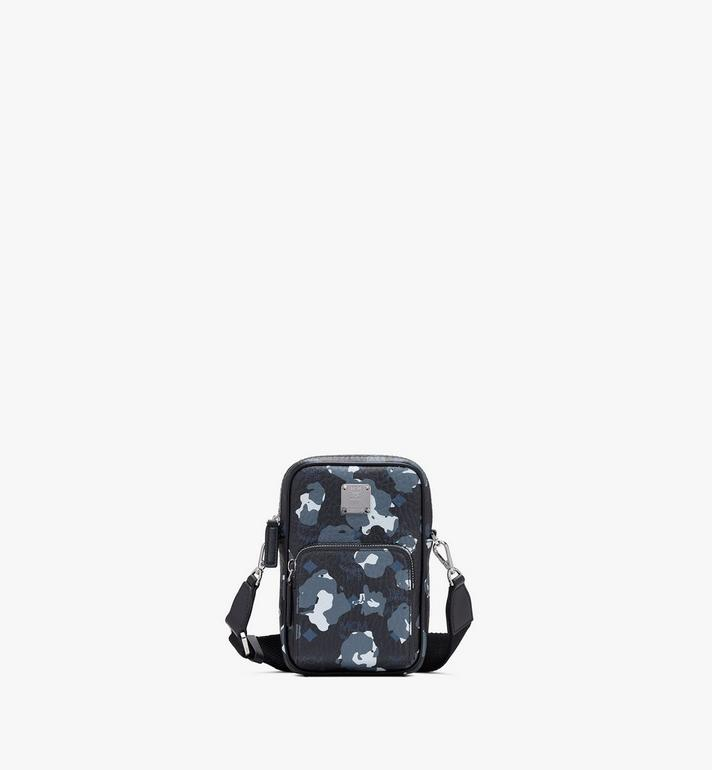 MCM Tech Crossbody in Floral Leopard Alternate View