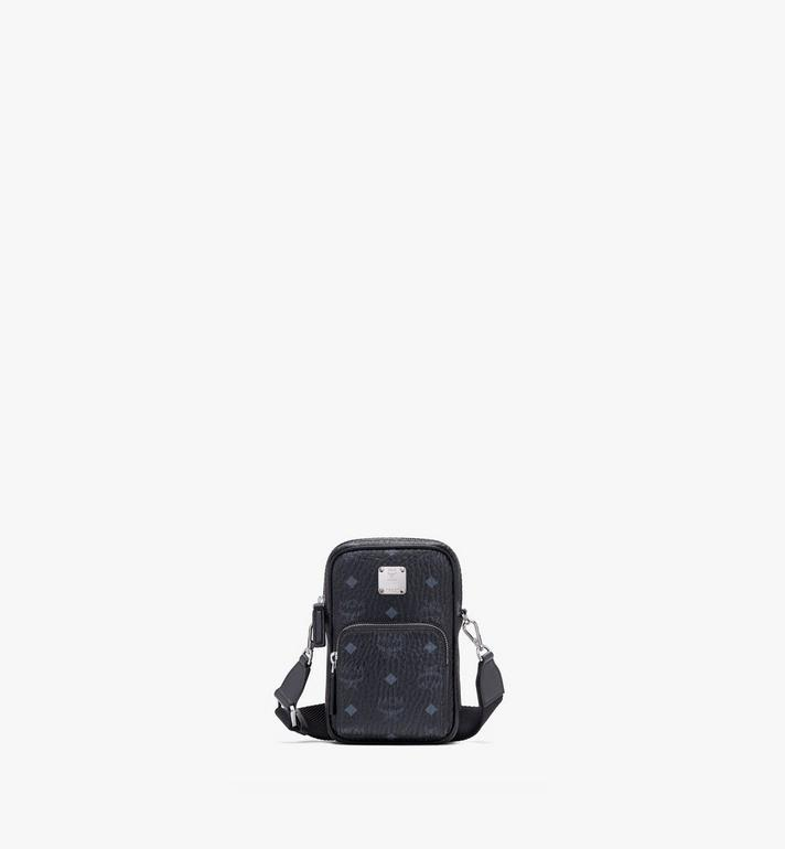 MCM Crossbody Tech Pouch in Visetos Alternate View