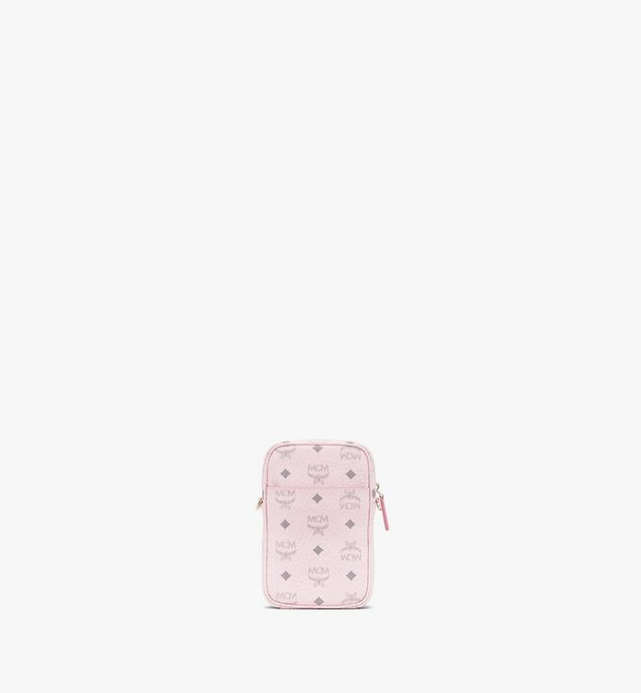 MCM Tech Crossbody in Visetos Original Pink MMRASVI02QH001 Alternate View 3