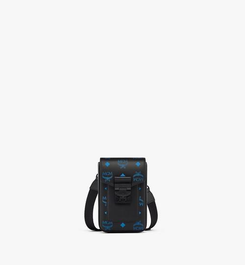 Hochformatige Crossbody-Tasche aus Leder in Color Splash Visetos