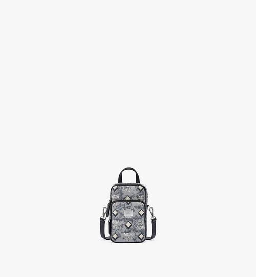 กระเป๋าครอสบอดี้ N/S ผ้าแจ็คการ์ดลายโมโนแกรมวินเทจ