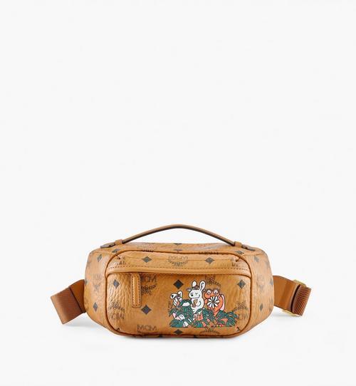 กระเป๋าครอสบอดี้ Klassik MCM x Aka Boku ลาย Visetos Original