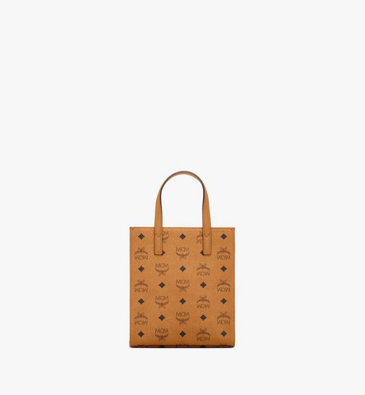 MCM Klassik Tote in Visetos Cognac MMTAAKC02CO001 Alternate View 4