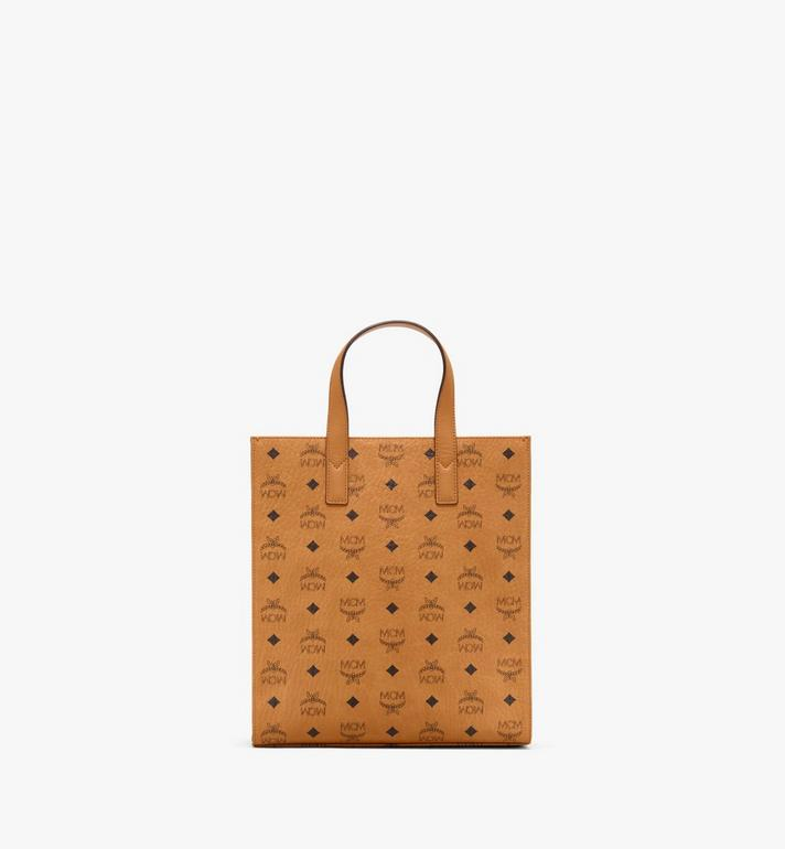 MCM Klassik Tote in Visetos Cognac MMTAAKC06CO001 Alternate View 4