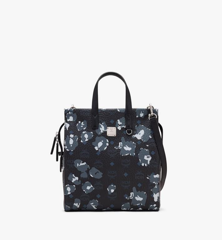 MCM Klassik Tote in Floral Leopard Alternate View