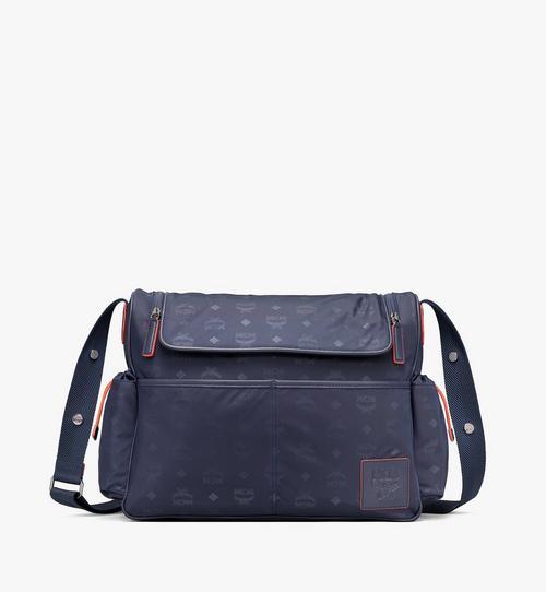 กระเป๋าใส่ผ้าอ้อมลายโมโนแกรมทำจากไนลอน
