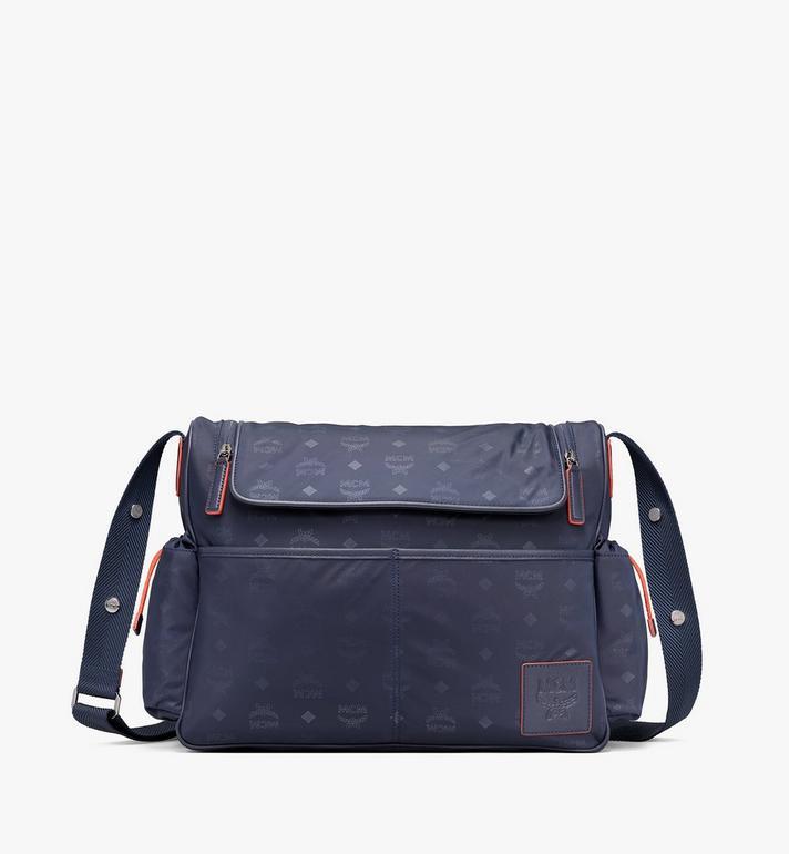 MCM Klassik Diaper Bag in Monogram Nylon Alternate View