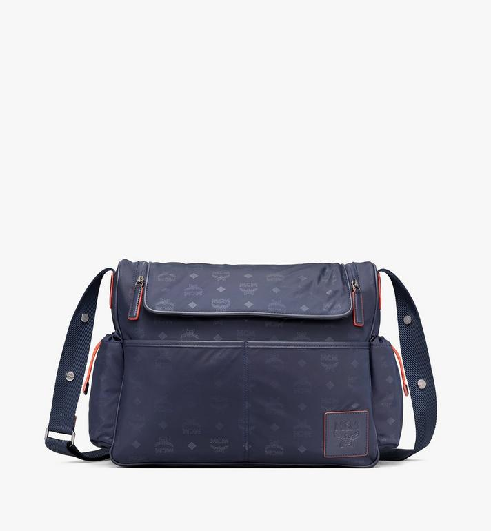 MCM Klassik Diaper Bag in Monogram Nylon Alternate View
