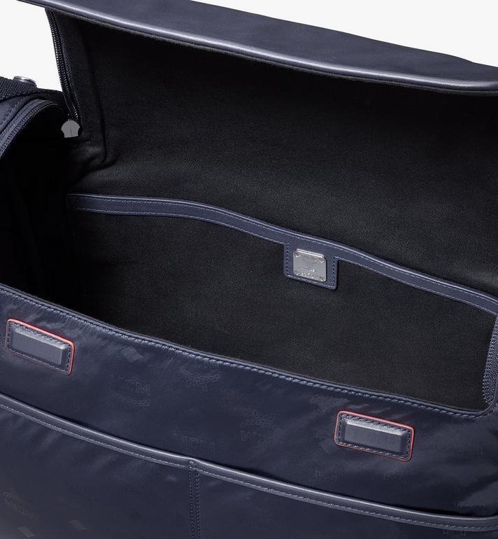 MCM Klassik Diaper Bag in Monogram Nylon Blue MMVASKC01VA001 Alternate View 4