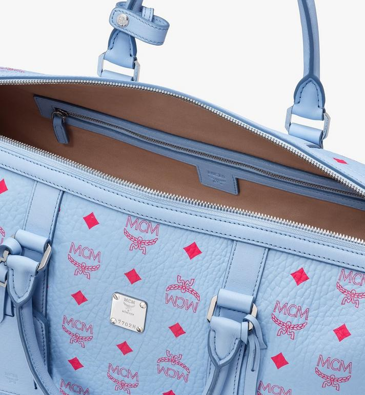 MCM Traveler Visetos 週末旅行包 Blue MMVASVY02H2001 Alternate View 4