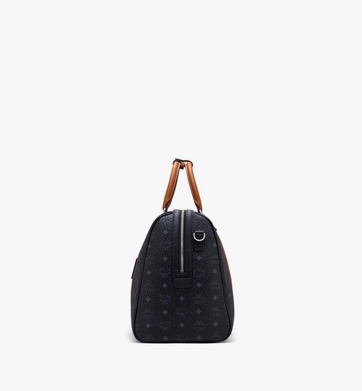 MCM Traveler Weekender Bag in Visetos Black MMVASVY04BK001 Alternate View 2