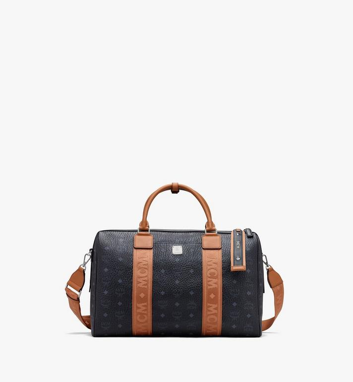 MCM Traveler Visetos 週末旅行包 Black MMVASVY05BK001 Alternate View 1
