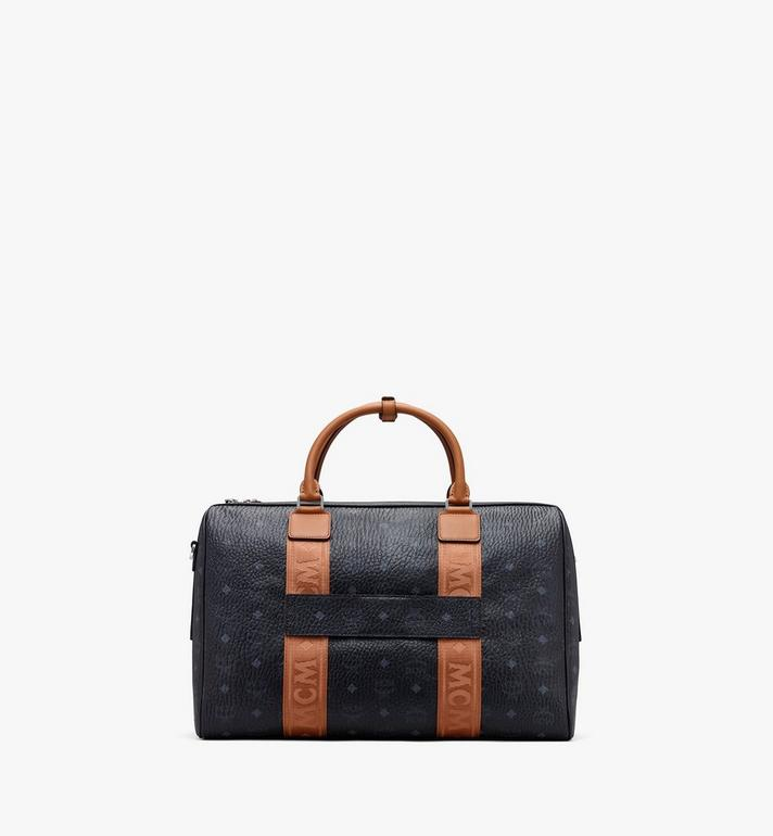 MCM Traveler Visetos 週末旅行包 Black MMVASVY05BK001 Alternate View 3
