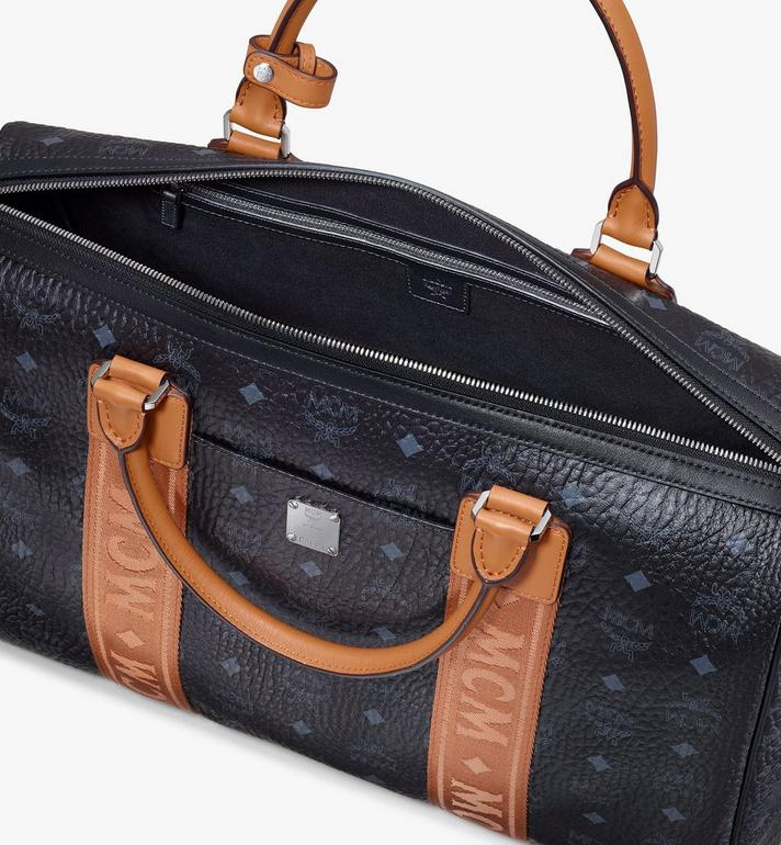 MCM Traveler Visetos 週末旅行包 Black MMVASVY05BK001 Alternate View 4