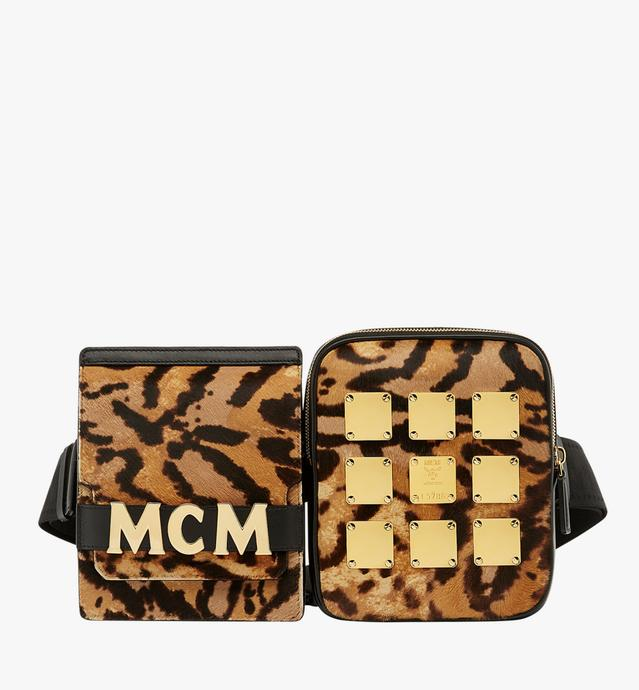 Stark Modular Belt Bag in Leopard Haircalf