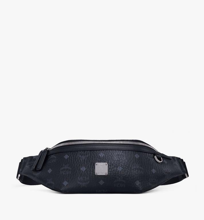 MCM Fursten Visetos 腰包 Black MMZAAFI01BK001 Alternate View 1