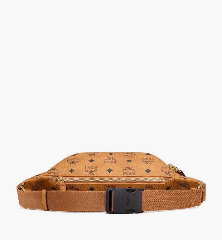 MCM Fursten Belt Bag in Visetos Cognac MMZAAFI01CO001 Alternate View 3