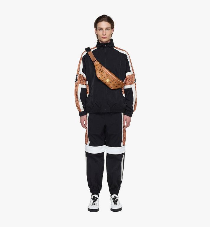 MCM Fursten Belt Bag in Visetos Cognac MMZAAFI01CO001 Alternate View 4