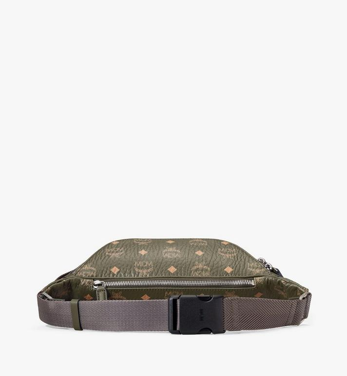 MCM Fursten Belt Bag in Visetos Green MMZAAFI01JH001 Alternate View 3
