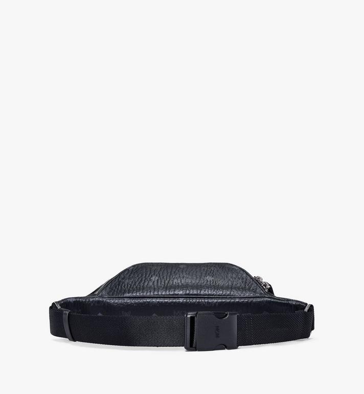 MCM Fursten Belt Bag in Visetos Black MMZAAFI04BK001 Alternate View 3
