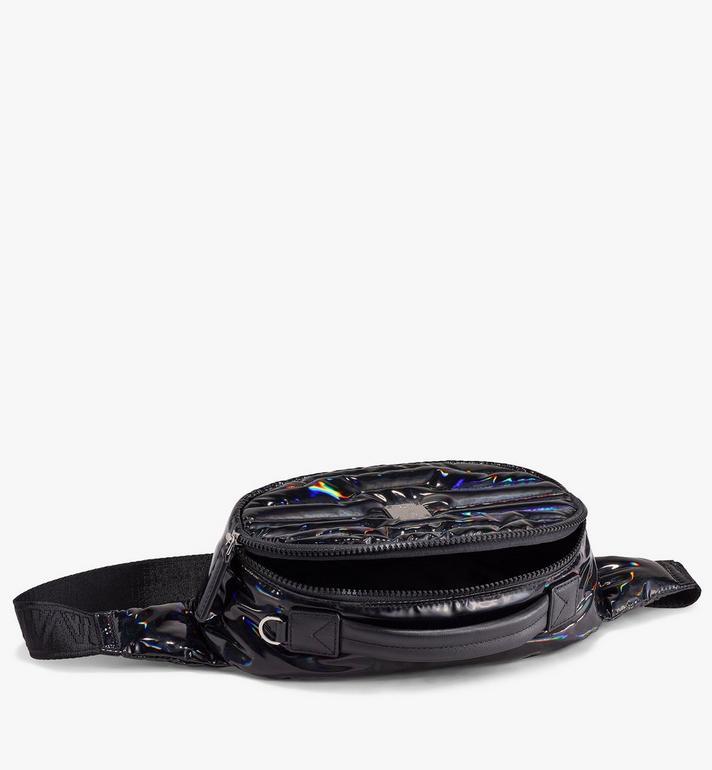 MCM Pochette de ceinture Fursten en tissu Tec-Quilt Black MMZAAFI06BK001 Alternate View 2