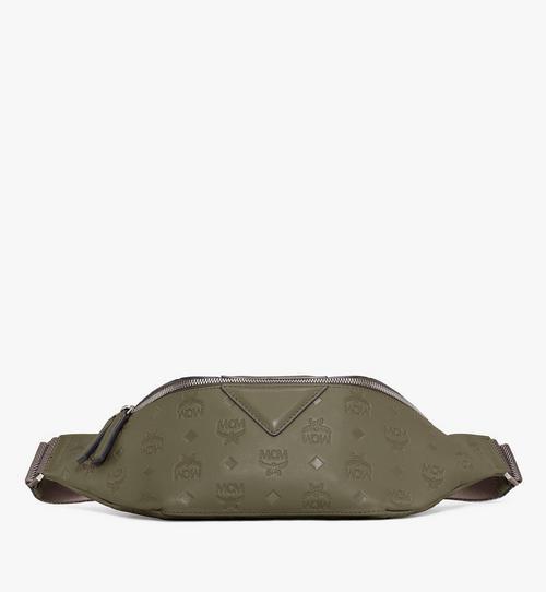 Pochette de ceinture Fursten en cuir monogrammé