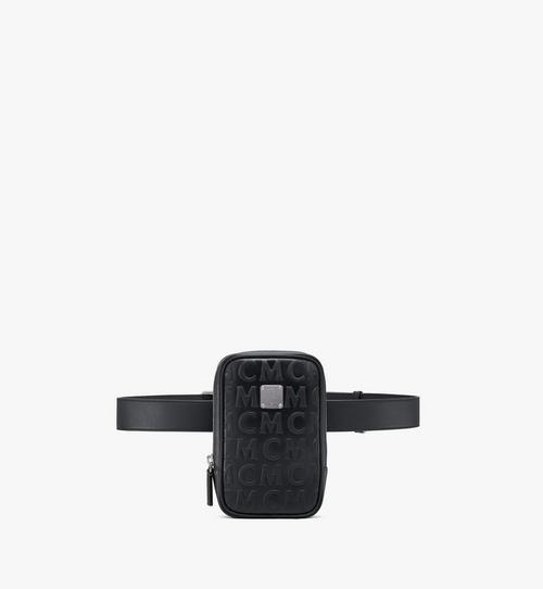 MCM 花押字圖案皮革 N/S Klassik 腰包