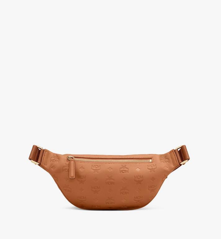MCM Fursten Belt Bag in Monogram Leather Cognac MMZASFI01CO001 Alternate View 2
