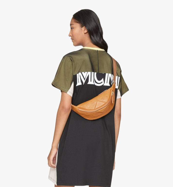 MCM Fursten Belt Bag in Monogram Leather Cognac MMZASFI01CO001 Alternate View 4