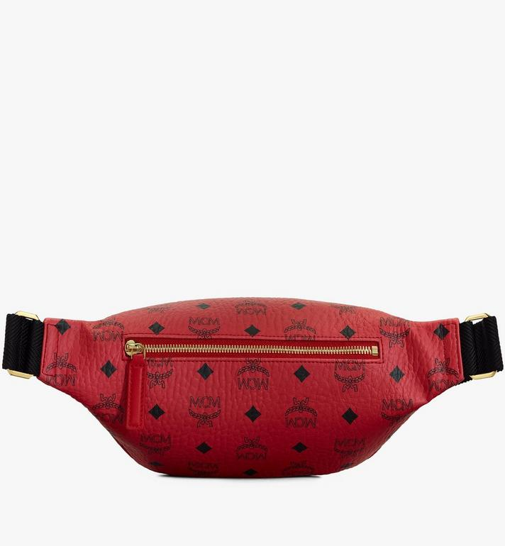 MCM Year Of The Mouse Fursten Belt Bag in Visetos Red MMZASFI02RJ001 Alternate View 2